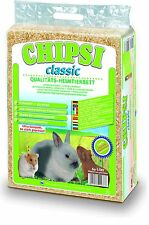 Chipsi Classic Heimtierstreu Einstreu für Kleintiere 60l / 3,2kg
