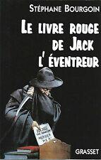EO STÉPHANE BOURGOIN LE LIVRE ROUGE DE JACK L'ÉVENTREUR + SHERLOCK HOLMES