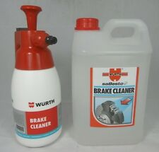 Genuine Wurth Brake Pump Dispense  + 3 Litres Brake Cleaner