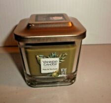 Yankee Candle PEAR & TEA LEAF Small 1-Wick Square Candle