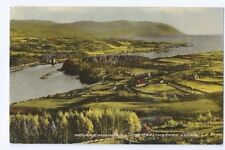 Postcard Mourne Mountains Carlingford Lough Warrenpoint cancel 1959 Down