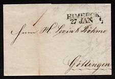 $German Stampless Cover, Einbeck-Gottingen (1843)
