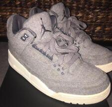 Air Jordan 3 Retro Wool Size 9 Nike Slightly Used! 100% Authentic