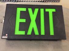 Evenlite Inc, Led Emergency Exit Light Sign Black Body