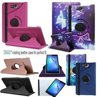 """For Samsung Galaxy Tab E 9.6"""" PU Leather Tablet Stand FLIP Case Cover T560/T561"""
