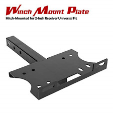 New listing FieryRed Universal Winch Cradle Winch Mounting Plate - Winch Mount Bracket for
