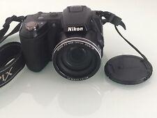 Nikon COOLPIX L120 14.1MP Digital Camera Black Strap & Cap