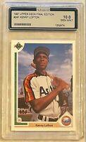 1991 Kenny Lofton Upper Deck Final Edition 24F ROOKIE Card Astros Indians MINT