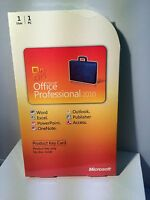 Microsoft Office 2010 Professional (PKC-Card)
