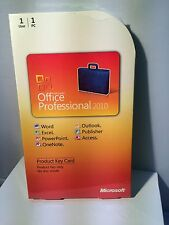 Microsoft Office 2010 Professional (PKC-card)