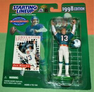 1998 DAN MARINO convention special Miami Dolphins NM+  *FREE_s/h Starting Lineup