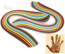2 Sets of 3mm Quilling Paper Strips 36 Colours Assorted DIY Craft 360pcs