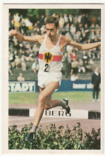 Manfred Letzerich RUNNER COUREUR SPORT GERMANY ALLEMAGNE Course CARD IMAGE 60s