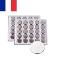 1x 2x 5x 10x 20x Pile Bouton lithium plate CR2032 3V pour Montre etc 3 volts