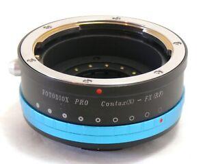 Fotodiox Pro Adapter CONTAX (N) - Fuji FX Brand New in box Mint/Unused.