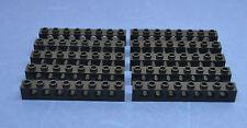LEGO 10 Technik Technic Lochstein Lochbalken 1x8 3702 schwarz black hole bricks