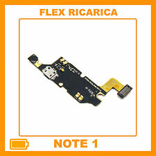 FLAT Flex Usb DOCK RICARICA GALAXY NOTE 1 II N7000 Connettore Samsung