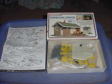 VINTAGE HO SCALE TRAIN LIFE LIKE HAND CAR DEPOT NOS # 1346