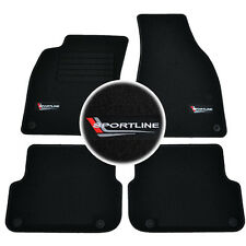 4 Carpet Floor Audi A6 2004-2011 S-LINE Quattro Mat Sportline Specific