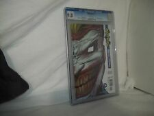 Nightwing #15 CGC 9.8 NM/MT DC 2013 Death of the Family Joker die cut cover