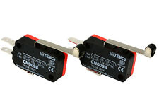 2 Pc Temco Micro Limit Switch Long Roller Lever Arm Spdt Snap Action Home Lot