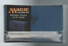Ultra PRO Magic the Gathering MTG Mana Matte BLUE Dual Flip Deck Box NEW