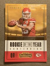 2017 Panini Contenders Patrick Mahomes II Rookie of the Year RC Chiefs RY-3