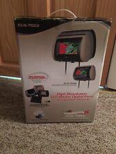 """Concept CLS-700X ChameleonX High Resolution 7"""" Headrest Screen Car DVD Screen"""