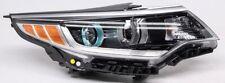 OEM Kia Optima Hybrid Right Passenger Side Halogen Headlamp Lens Wear