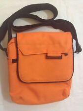 United Colors of Benetton - Borsa marsupio da uomo o donna - arancione e nero