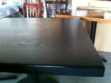 """New 30""""48""""Restauran t Solid Wood Edge Table Top With black Finishing"""