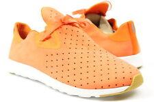 Native Mens Ap Moc Shoes Sunset Orange Shell White 9 New
