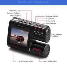 1080P G-Sensor  HD Dual Lens In Car DVR Camera Dash Cam Motion Video Recorder