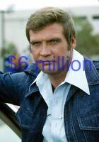 THE SIX MILLION DOLLAR MAN #365,LEE MAJORS,8x10 PHOTO,big valley,fall guy,bionic