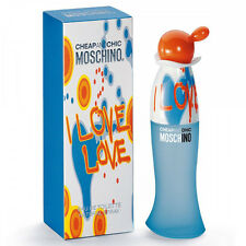 CHEAP AND CHIC I LOVE LOVE de MOSCHINO - Colonia / Perfume EDT 100 mL - Woman  &