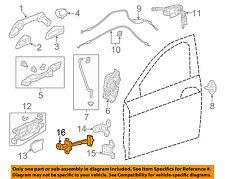 HONDA OEM 13-16 Accord Front Door-Hinge Check Left 72380T2FA01