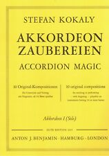 Akkordeon Noten : Akkordeon Zaubereien (Stefan KOKALY) - Original-Kompositionen