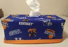NCAA University of Kentucky Wildcats Tissue Box Cover (rectangular) Handmade
