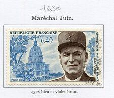 STAMP / TIMBRE FRANCE OBLITERE N° 1630 MARECHAL JUIN
