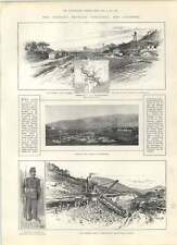 1901 Conflict Between Venezuela And Colombia Panama Canal