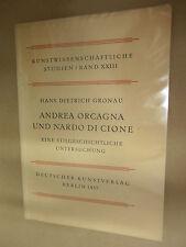 Gronau – Andrea Orcagna u. Nardo di Cione - 1937