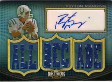 PEYTON MANNING '10 THREADS AUTO 9 JERSEY RELIC SP 14/18