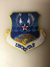 """U.S.A.F. CENTRAL COMMAND PATCH, 3"""" SIZE, HOOK & LOOP BACK"""