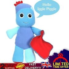 In The Night Garden Talking Iggle Piggle Soft Toy CBeebies Show Fun Sounds 23cm