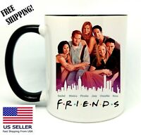 Friends, TV show, Birthday, Christmas Gift, Black Mug 11 oz, Coffee/Tea