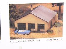 Bachmann / Plasticville ~ 45532 Vintage Auto Repair Shop