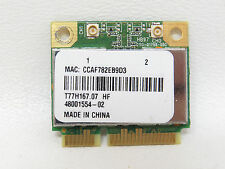 ATHEROS AR5B97 T77H167.07 LF HALF-HEIGHT-MINI-CARD WIRELESS N HB97 AR9287 TESTED