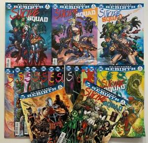 Suicide Squad #1 to #50 complete series (DC 2016) 50 x FN+ to NM issues