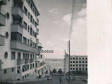 TANGER c. 1950 - Rue immeuble Port Maroc - M34