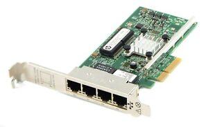 HP 331T 4-Port 1GbE PCI-E 2.0 x4 Network Adapter Card 647592-001 649871-001